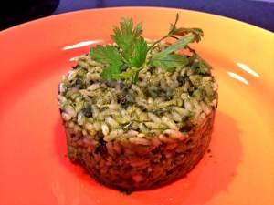 arroz brocolis