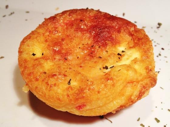 Pão de queijo liquidificador muffin