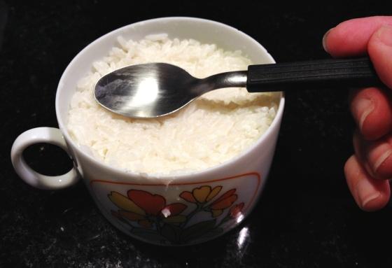 arroz servir