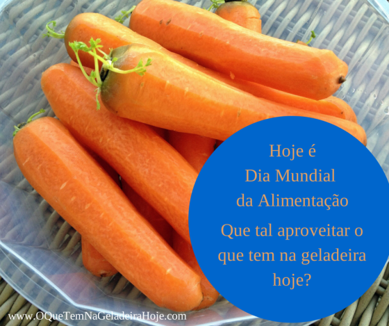 dia mundial da alimentação