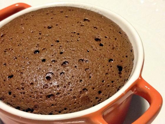 sufle de chocolate