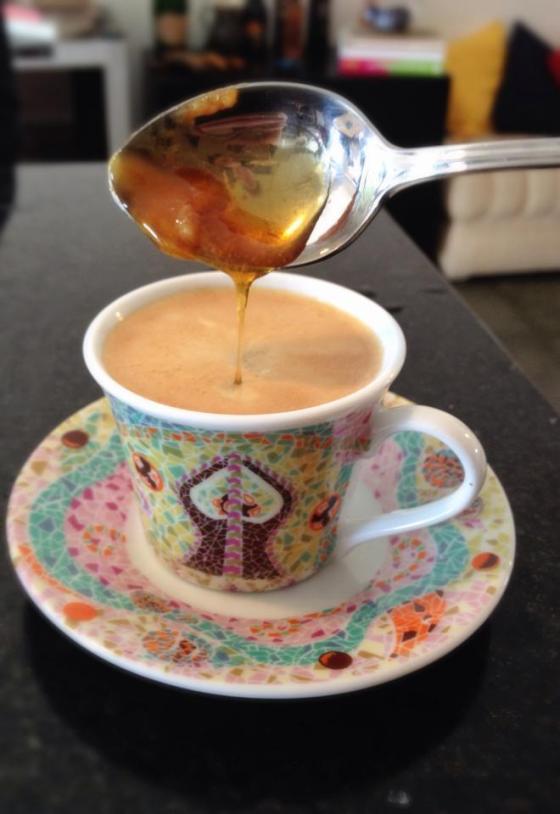 Cafezinho, café, adoçar