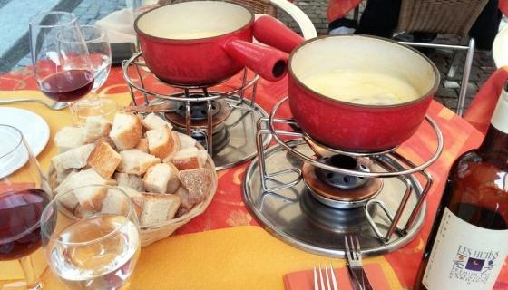fondue de queijo