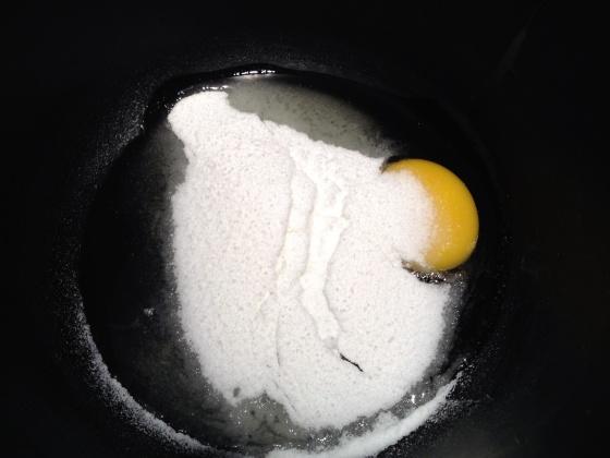 cupcake ovos açúcar